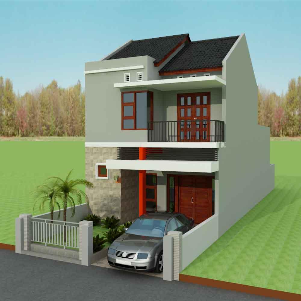 Desain Rumah Sederhana Asri