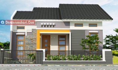 Desain Rumah minimalis di Cilacap