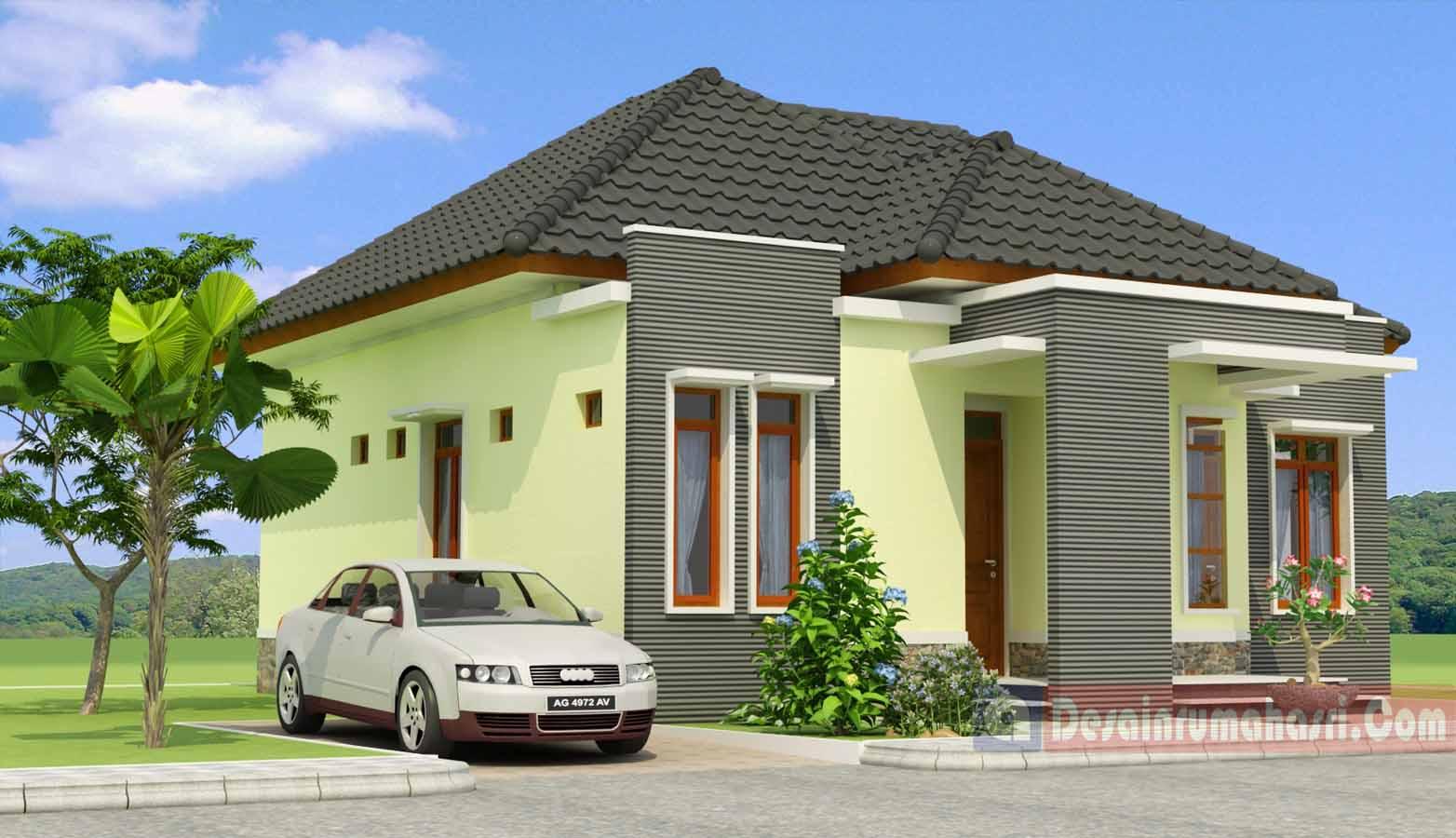 Model Rumah Tampak Dari Depan