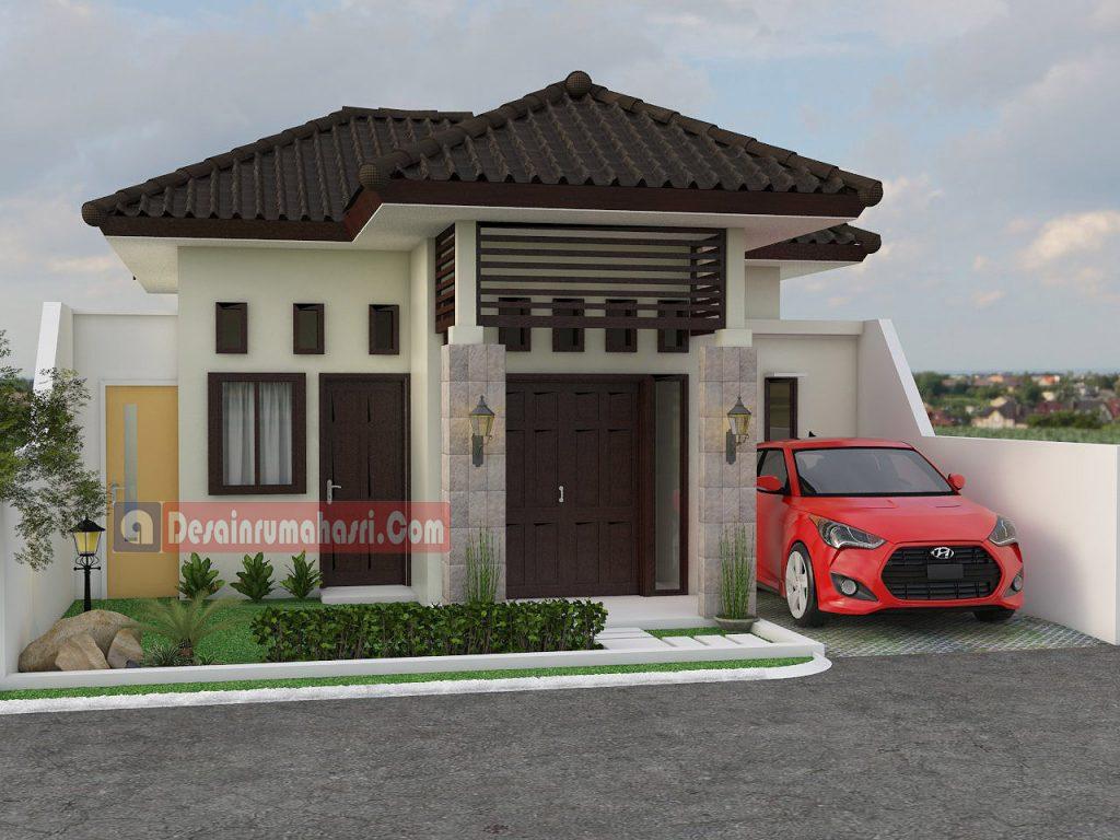 Rumah Minimalis 1 Lantai Desain Rumah Asri