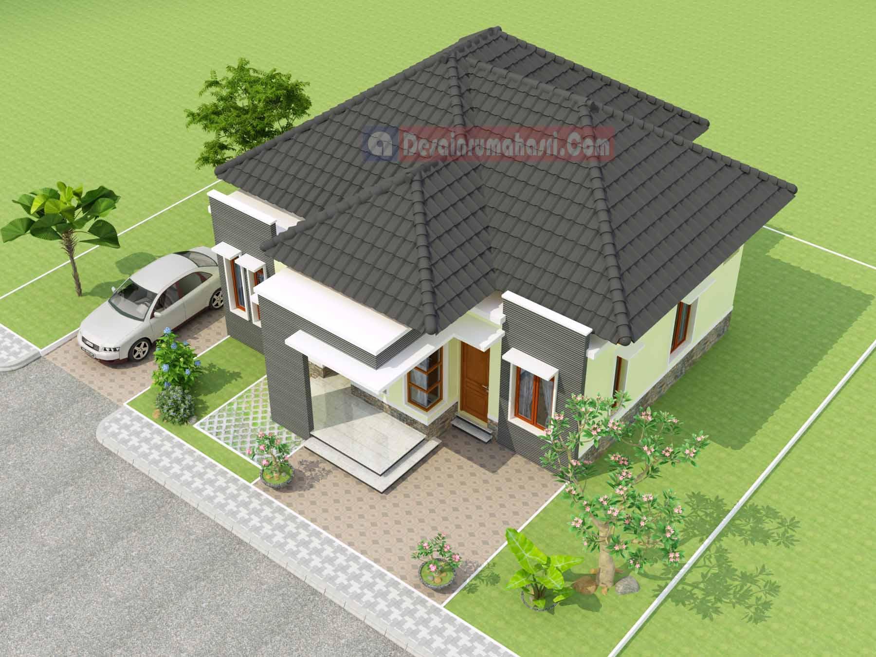 Rumah Indah di Cilacap – Desain Rumah ASRI