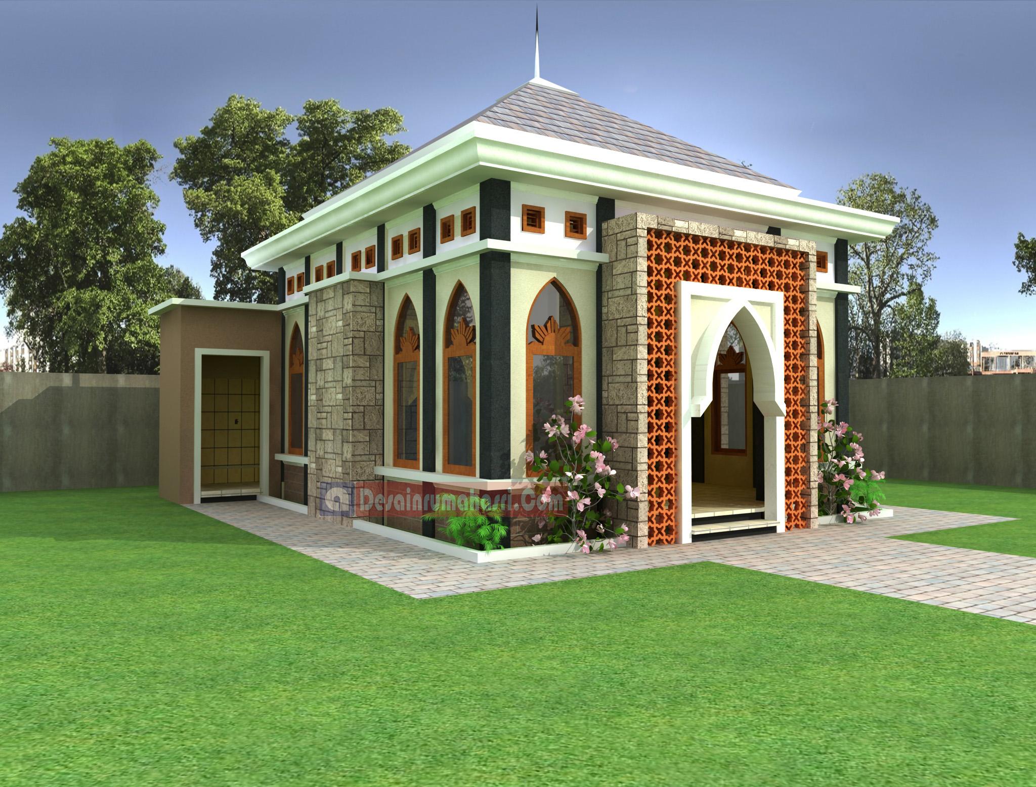 Desain Masjid Gratis Desain Rumah Asri Desain masjid kecil